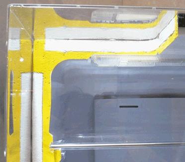 冷蔵庫内の断熱材