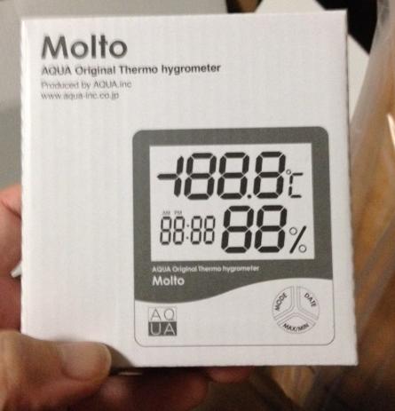 mood 加湿器 購入特典 湿度計