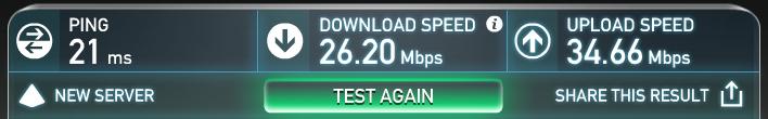 無線接続速度