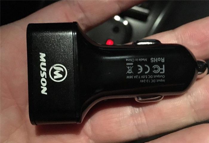 3ポート USB カーチャージャー
