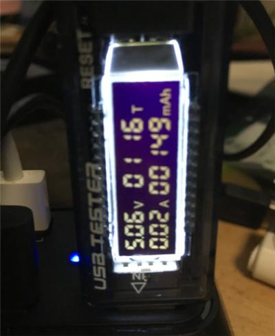 KKmoon キーボード 初回充電量