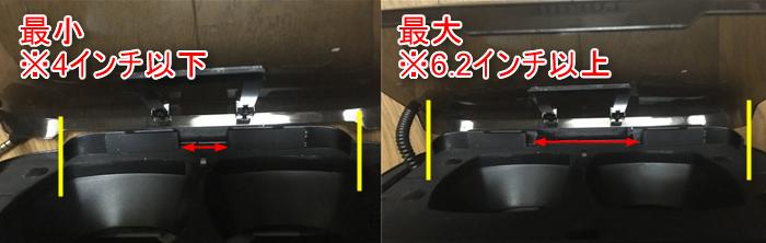 LUPHIE 3DVRゴーグル スマートフォン固定方法
