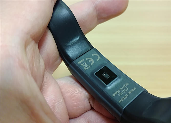 Lenovo Cardio Plus HX03W 裏側センサー