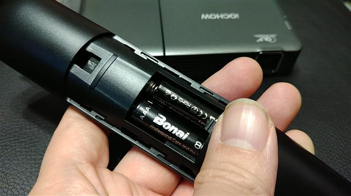 リモコン 電池