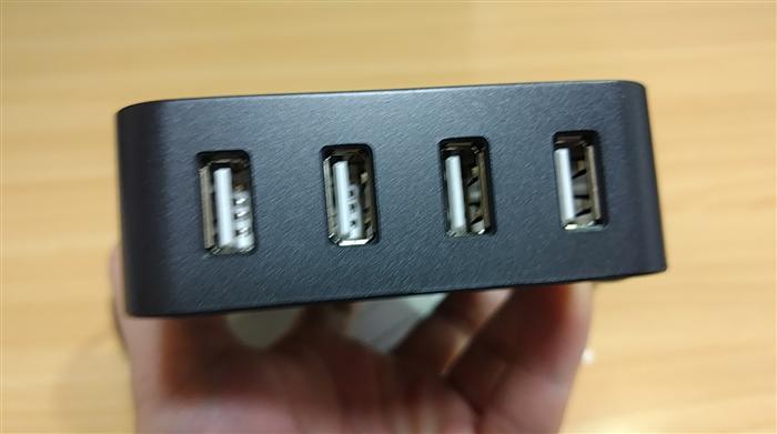 elinker テーブルタップ USBポート
