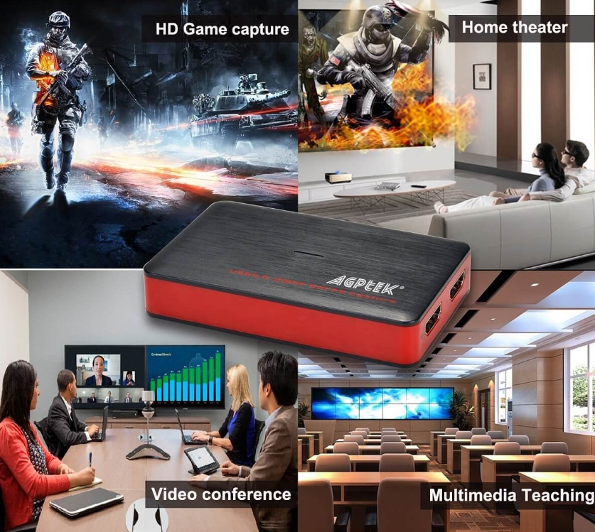 AGPtEK HDMIゲームキャプチャー