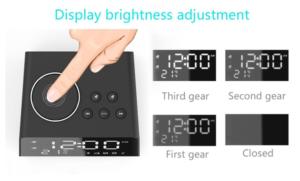 LED Display Dual Alarm Clock 表示
