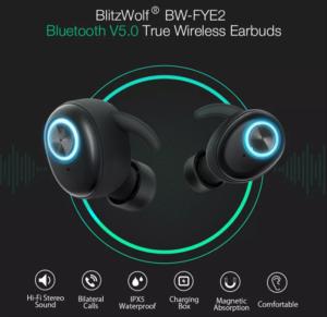 Blitzwolf BW-FYE2 Bluetoooth5.0イヤホン